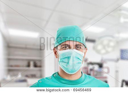 Portrait of a confident surgeon
