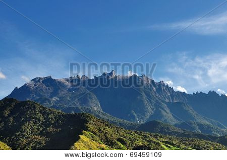 Mt. Kinabalu view