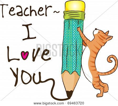 teacher, I Love You