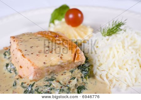 Salmon Fillet a la carte
