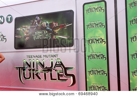 LOS ANGELES - AUG 3:  Atmosphere at the Teenage Mutant Ninja Turtles Premiere at the Village Theater on August 3, 2014 in Westwood, CA
