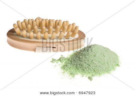 Cepillo de baño Spa y sal marina
