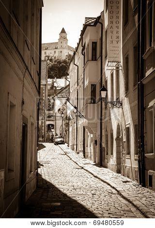 Old Town At Bratislava, Slovakia