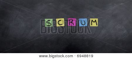 Scrum Post It's