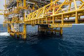 image of offshore  - The production plant or process in offshore oil and gas industry - JPG