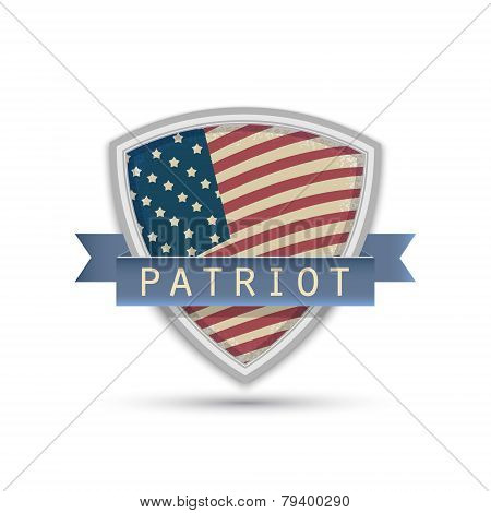 American Flag Words Patriot