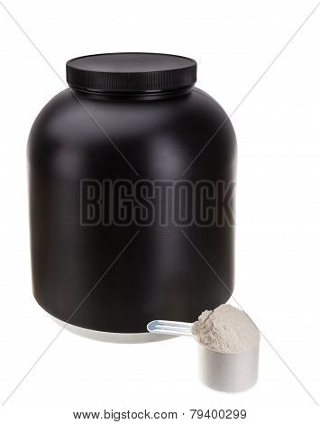 The Container For The Protein. For Fitness And Bodybuilding.