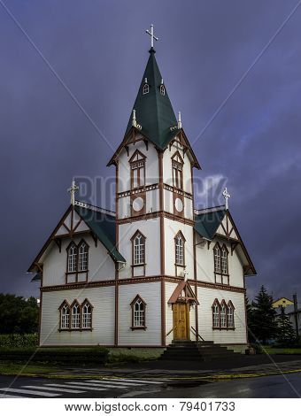 The Church In Husavik