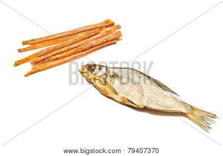 Tasty Fish Strips And Stockfish