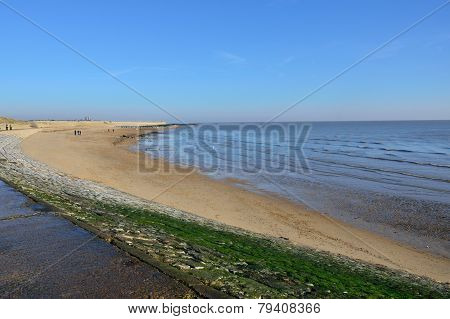 Sandy beach in Essex