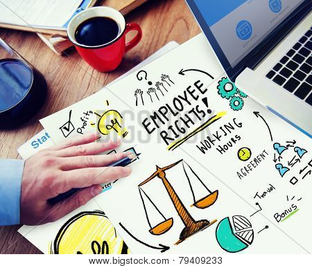 Employee Rights Employment Equality Job Office Working Concept