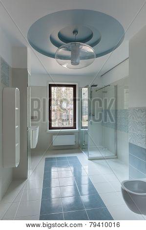 Luxury Restroom Interior