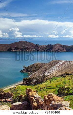 Isla Del Sol. Island of the Sun. Bolivia.