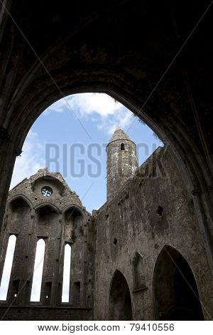 Rock Of Cashel Church Interior