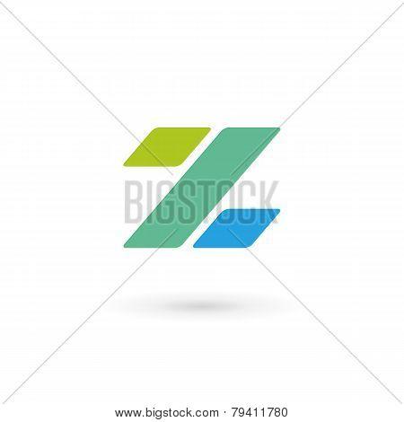 Letter Z Percent Logo Icon Design Template Elements