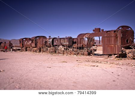 train to Uyuni