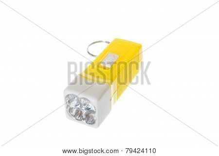 Electric Yellow Pocket Led Flashlight Or Torch