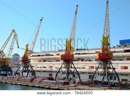 Old Metal Cranes