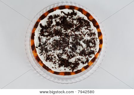 cake shot from above