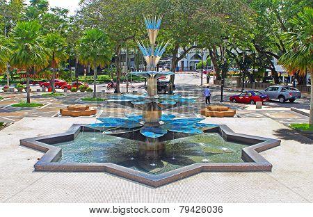 Fountain In Kuala Lumpur, Malaysia