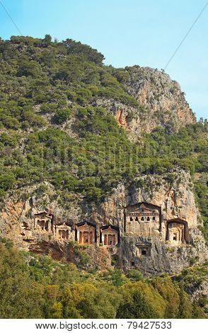 Dalyan Tombs, Turkey