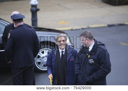 Fox News commentator Geraldo Rivera