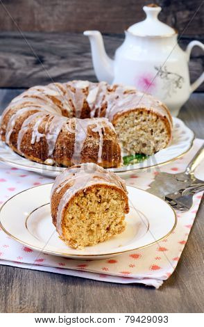 Oat And Coconut Bundt Cake