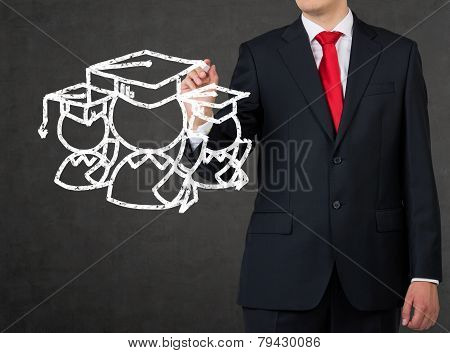 Student In The Bachelor Cap