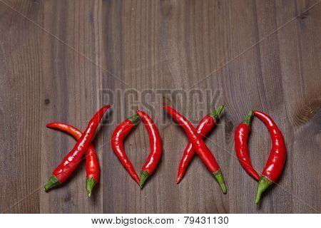 Chili pepper xoxo