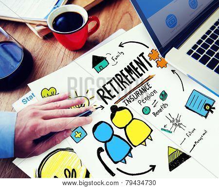 Businessman Retirement Professional Occupation Job Office Working Concept