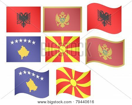 European Flags 12