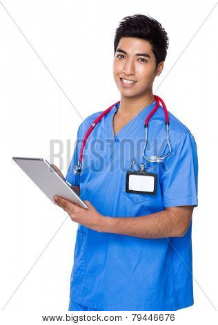 Doctor use of tablet