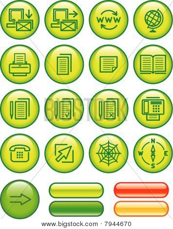 Web Icons Set (Vector)