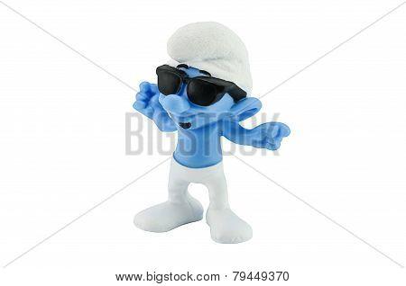 Sunglasses Smurf.