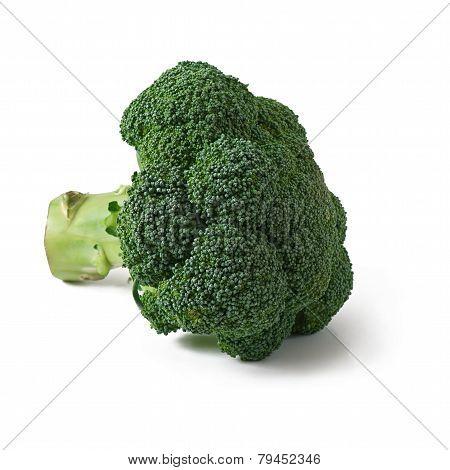 Green cauliflower isolated on white background