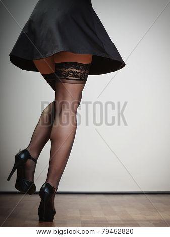Sexy Female Legs In Dance