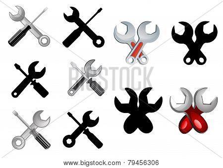 Repair Or Settings Icons