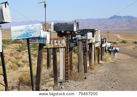 Rout 66 Arizone mailbox