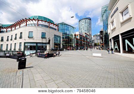 Bullring shops, Birmingham.