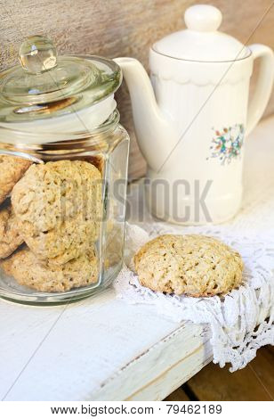 Oat And Bran Cookies