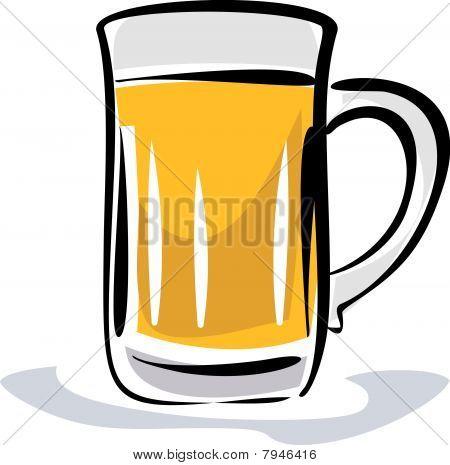 Beer illustration