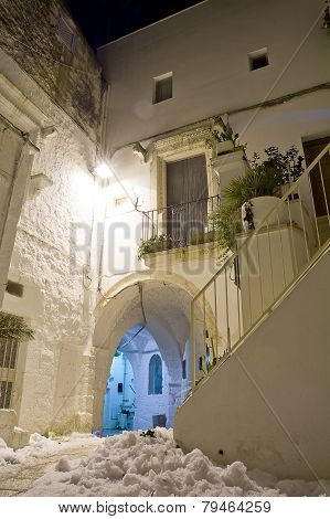 Alley Of Puglia