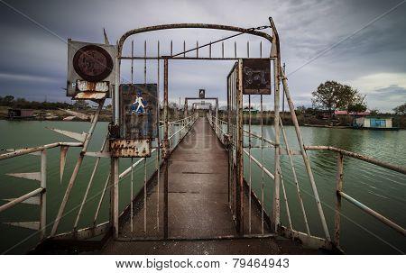 Old Metal Footbridge