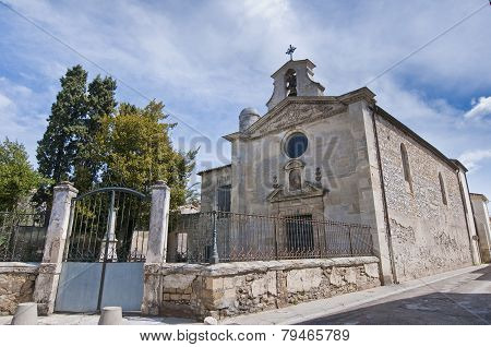 Chapelle Des Penitents Gris At Aigues Mortes, France