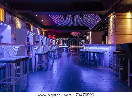 Dance Club Interior. Organza, Bulgaria, Veliko Tarnovo