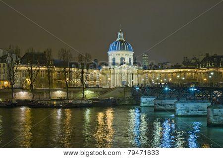 Institut De France At Paris, France