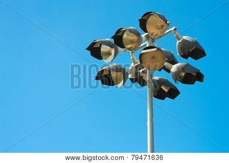 Baseball stadium spotlight