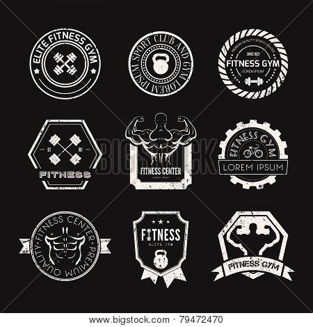 Fitness and Sport Gym Logos