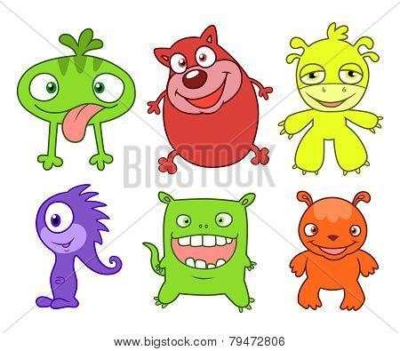 Cute Monsters Set  Two