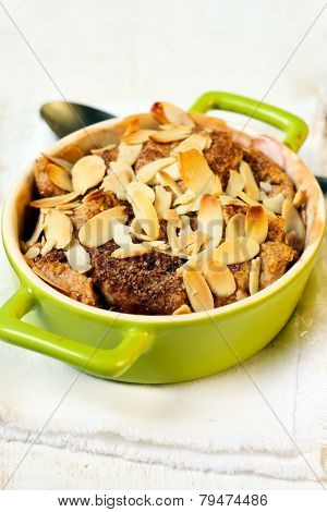 Fruit And Almond Cobbler